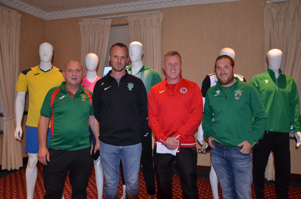 Launch Night Brendan Kelly Tommy Cummins Paul Gardner and Alan Quinn